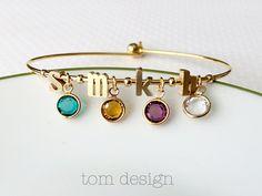 Construir tu propia pulsera de piedra personalizada por TomDesign
