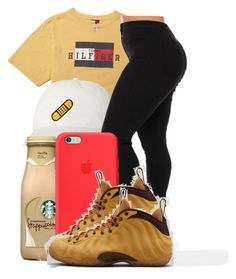 """."" by ray-royals ❤ liked on Polyvore featuring Apple and NIKE"