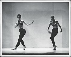 Yvonne Rainer, Duet from Terrain, 1963, Yvonne Rainer and Trisha Brown performing at Judson Memorial Church, New York