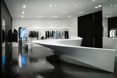 Neil Barrett boutique.