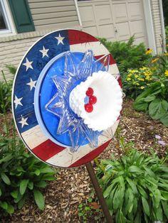 Top 17 Easy Patriotic Garden Designs – Unique July 4th Holiday Backyard Decor Project - DIY Craft (16)