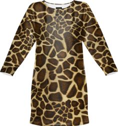 Little Giraffe Sweatshirt Dress - Available Here: http://printallover.me/products/0000000p-little-giraffe-13