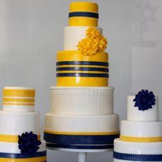 WVU wedding cakes!