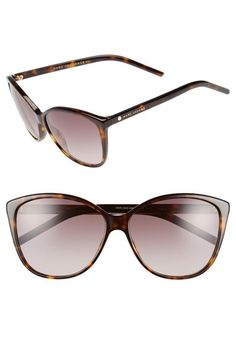 5bceb391fa9 MARC JACOBS MARC JACOBS 58mm Butterfly Sunglasses available at  Nordstrom
