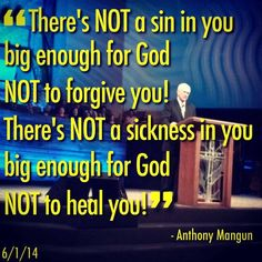 Nothing is big enough for the God that I Serve!!!!!!!!!!!:)
