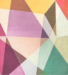 prism rectangle rug | sonya winner.