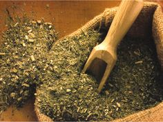 """""""Yerba Mate"""" (Careful, contains considerable caffeine!)  [ http://guayaki.com/mate/130/What-is-Yerba-Mate%3F.html ] Mate is a wonderful herb from South America. It is traditionally brewed in a hollowed out little gourd and sipped through a filtered straw called a """"bombilla."""" Mate gives a clean mental/physical boost and has a pleasing, mild grassy taste."""