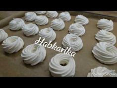 Meringue, Macarons, Icing, Food And Drink, Gluten Free, Place Card Holders, Youtube, Heavenly, Menu