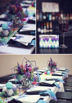 Wedding Wednesday: Cosmic Love Paper Goods Featured on Brooklyn Bride // LoveCreative Blog