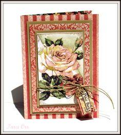 Graphic 45 Ladies Diary Card - Tara Orr