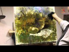 ▶ Видео урок живописи Елены Ильичевой - В предчувствии весны - YouTube