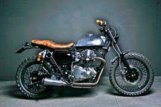 Un'altra w650 questa volta in versione Skrambler!...La moto è stata pubblicata sul primo numero dello speciale Cafè Racer di Low Ride!