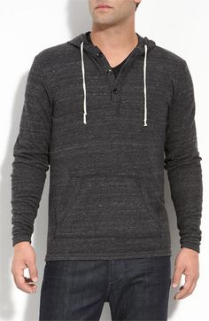 2f23bc07 Alternative 'Timbers' Jersey Henley Hoodie | Nordstrom