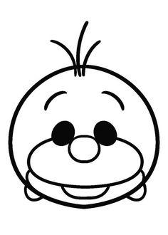 51 Mejores Imagenes De Tsum En 2018 Disney Tsum Tsum Coloring