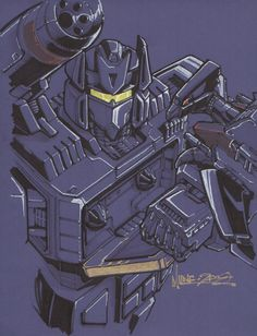 Wow I definelty need these in my on day geek/man cave. Transformers - Soundwave by markerguru on deviantART
