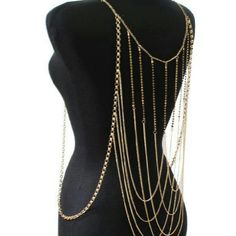 BODY CHAIN   (  ONE IN STOCK  ) GET THIS NEW STYLE BACK BODY CHAIN ABSOLUTELY FANTASTIC Jewelry