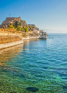 "Make Corfu, Greece one of your ports of call in the Mediterranean. This hidden treasure is named the ""Emerald Island"" because of its lush greenery and breathtaking beauty."