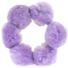 Lilac Candy Pom Pom Bangle (160 BRL) ❤ liked on Polyvore featuring jewelry, bracelets, accessories, hair, fillers, women, brass bangles, bangle jewelry, brass jewelry en hinged bangle
