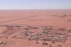 Base avancée de Madama au Niger - photo Armée de Terre