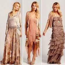 style hippie longue robe