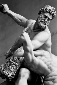 Heracles and Nessus by Giambologna, (1599), Florence. My favourite statue in the…