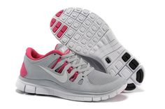 huge selection of 8f106 b5aaf Nike Free 5.0 Grey Pink Womens Running Shoes  fashion  sneakers Discount  Nike Shoes,