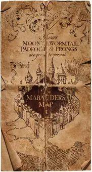 Marauder's Map - Harry Potter Wiki