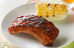 Saucy foil BBQ ribs