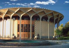 City Theater/Teatr-e Shahr. Tehran, Iran. Ali Sardar Afkhami. Image.