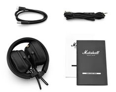 Marshall Major IV headphones review: Rock and roll doesnt need wires Wireless Headphones Review, In Ear Headphones, New Mac Mini, Marshall Headphones, Marshall Major, Leather Material, Music Lovers, Hard Rock, Headset