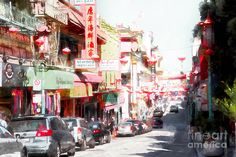 Chinatown Gate On Grant Avenue In San Francisco 7d7175wcstyle Photograph by Wingsdomain Art and Photography