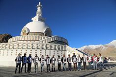 Leh adds their voice to #FreeTheArctic30 at the Sanchi Stupa