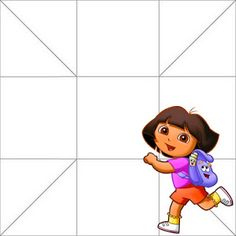 Dora the Explorer: Free Printable Party Boxes. Party Printables, Free Printables, Dora The Explorer, Party In A Box, Blogger Templates, I School, Boxes, Birthday, Cartoons