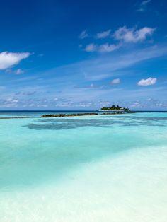 Maldive / spiaggia con vista