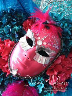 Masquerade Quinceañera Party Ideas | Photo 9 of 19 | Catch My Party