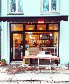 """""""The cutest little coffee shop in Copenhagen. ☕️ #myhood #østerbro #newfavorite"""""""