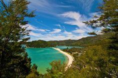 """El paraíso en """"versión Nueva Zelanda"""" (Parque Nacional Abel Tasman)"""