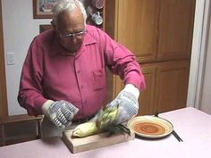 Shucking Corn. Clean ears every time - so easy! And you gotta watch because Ken is a sweetheart!