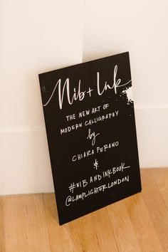 Nib + Ink Modern Calligraphy Book launch