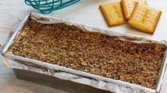 Κορμός ψυγείου με μπισκότα και δροσερή κρέμα (Video) | Συνταγές - Sintayes.gr