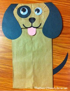 Paper bag crafts for kids Preschool Projects, Daycare Crafts, Classroom Crafts, Preschool Crafts, Preschool Library, Preschool Christmas, Art Projects, Christmas Crafts, Puppet Crafts