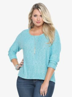 Marled Pullover Sweater.  Torrid.com