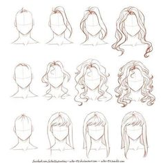 Deferent hair styles with the steps