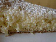 Receita de bolo de coco low carb