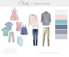 what to wear baby newborn family photography Family Picture Colors, Family Picture Outfits, Clothing Photography, Family Photography, Spring Family Pictures, Family Pics, Spring Photos, Family Portrait Outfits, Family Portraits