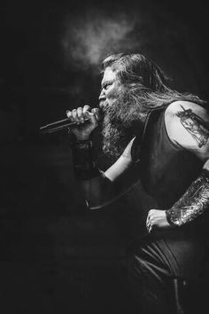 Johan Hegg from Amon Amarth