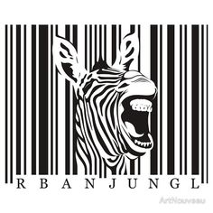 """Zebra Tshirt"" T-Shirts & Hoodies by ArtNouveau 
