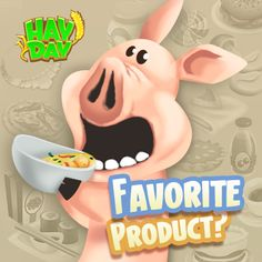 Favourite product on Hay Day!! Check out @ www.haydaygameplay.com