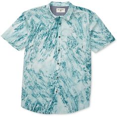 Billabong Men's Washed Up Graphic-Print Short-Sleeve Shirt (70 CAD) ❤ liked on Polyvore featuring men's fashion, men's clothing, men's shirts, men's casual shirts, hazel, mens casual short-sleeve button-down shirts, mens cotton shirts, mens cotton short sleeve shirts, mens graphic t shirts and mens short sleeve casual shirts