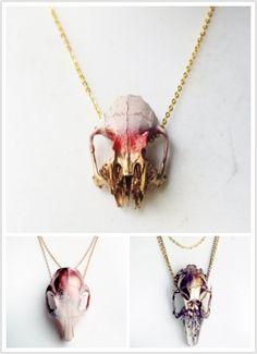 Animal Skulls Necklaces